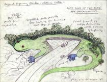 Patricia Johanson, Regional Highway Garden: Nature Walk, 1969. Courtesy of the artist