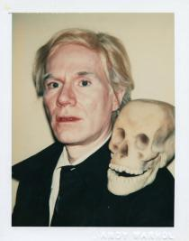Andy Warhol, Self-Portrait with Skull, 1977,The Andy Warhol Museum, Pittsburgh; Foundling Collection © 2008 The Andy Warhol Foundation for the Visual Arts, Inc. All rights reserved