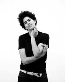 Portrait Julie Mehretu, March 2009