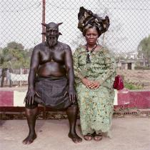 Pieter Hugo, Chris Nkulo and Patience Umeh, Enugu, Nigeria, 2008. From the series Nollywood. � Pieter Hugo, Courtesy Yossi Milo Gallery, New York and Stevenson Gallery, Cape Town