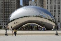 Anish Kapoor, Cloud Gate, 2004, Foto: Patrick Pyszka, City of Chicago, Courtesy of the City of Chicago and Gladstone Gallery, New York