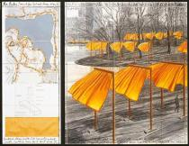 Christo, The Gates, Project for Central Park, New York City, 2003. Deutsche Bank Collection. Courtesy & © Christo