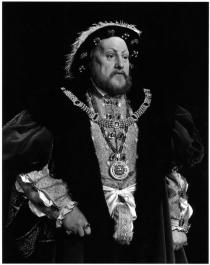 "Hiroshi Sugimoto, Henry VIII, from ""Portraits"", commissioned work for the Deutsche Guggenheim, 1999"