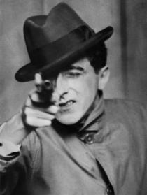 Berenice Abbott, Jean Cocteau with Gun,1926. � Berenice Abbott / Commerce Graphics Ltd, Inc.
