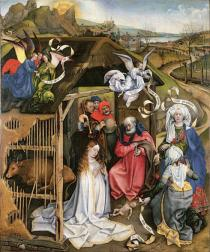 The Master of Fl�malle, The Nativity, around 1430