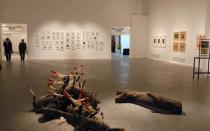 "Exhibition view of ""Beuys and Beyond � Teaching as Art"" at the Centro Cultural Recoleta in Buenos Aires"
