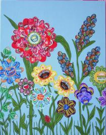 Luisa Caldwell, Blooms, 2007, Courtesy of the Artist