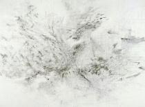 Julie Mehretu, Fragment, 2008-2009