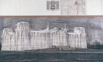 Christo, Wrapped Reichstag, Project for Berlin, 1978. Deutsche Bank Collection. Courtesy & © Christo