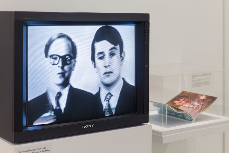 Gilbert & George, A Portrait of the Artists as Young Men, 1970. © Gilbert & George, Courtesy White Cube. Photo: © Tate Images credit