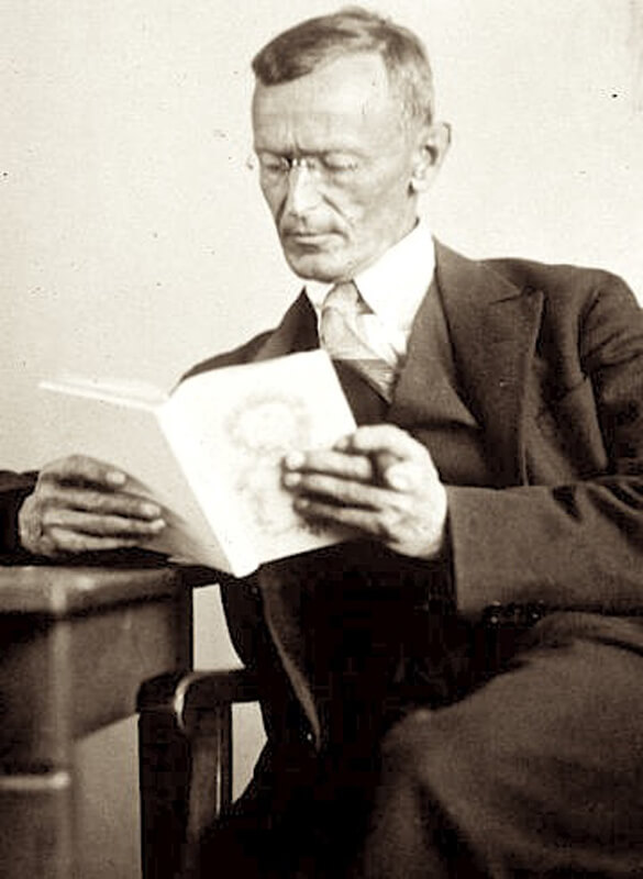 Hermann Hesse, 1929. Photo: Gret Widmann