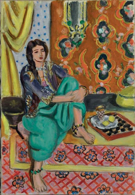 Deutsche Bank - ArtMag - 65 - on view - A Passion for ... Henri Matisse Woman Reading